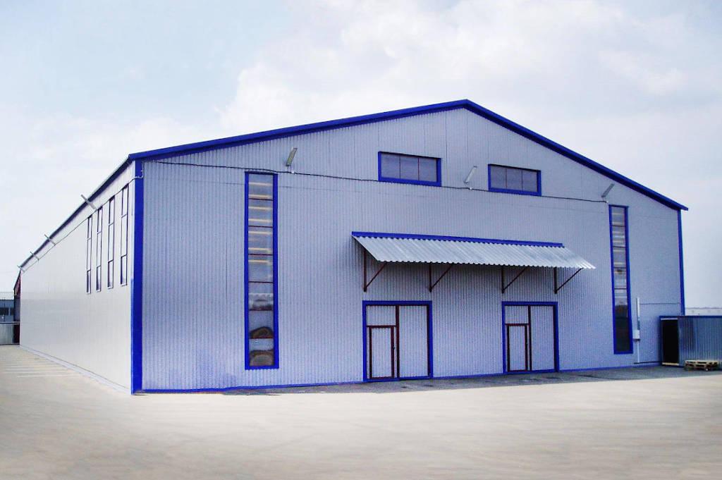 Проектирование склада из металлоконструкций